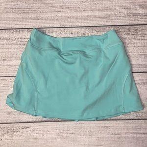 NWOT NO Brand Mint Green Tennis skirt Skort Medium